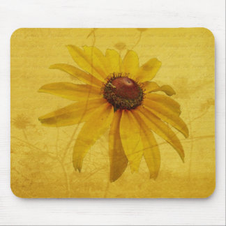 Black-Eyed Susan Wildflower Mouse Pad