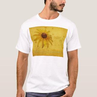 Black-Eyed Susan Wildflower & Quotation T-Shirt