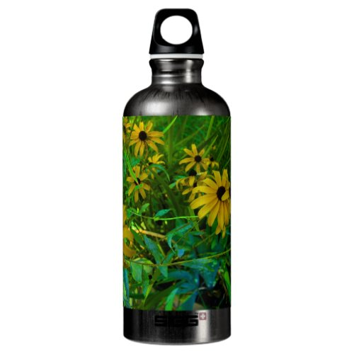 Black-Eyed Susans Aluminum Water Bottle