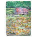 Black-Eyed Susans Barn iPad Cover
