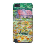 Black-Eyed Susans Barn iPod Touch 5 Case iPod Touch (5th Generation) Cover