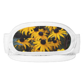 Black Eyed Susans Coneflowers Flowers Cap-Sac Hat