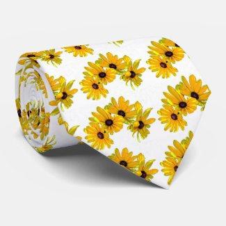 Black-eyed Susans Custom Ties
