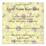 Black Eyed Susans Everywhere 5.25x5.25 Square Paper Invitation Card