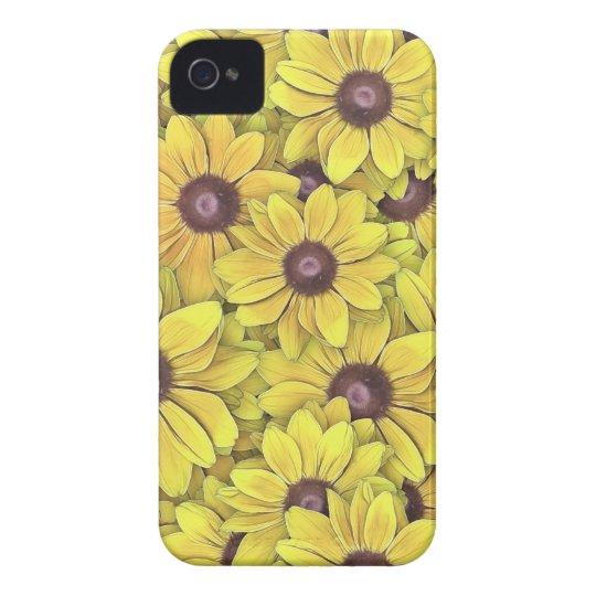 Black Eyed Susans Everywhere iPhone 4 Case