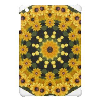Black-eyed Susans,  Floral Mandala iPad Mini Cover