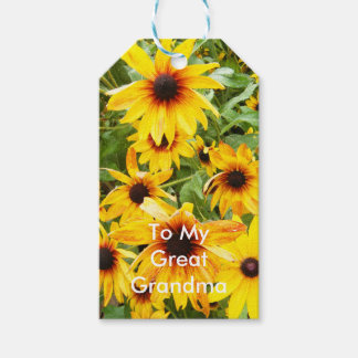 Black Eyed Susans Gift Tags