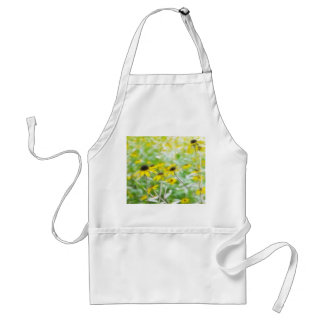 Black Eyed Susans in the Summer Meadow Adult Apron