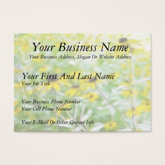 Black Eyed Susans in the Summer Meadow Business Card