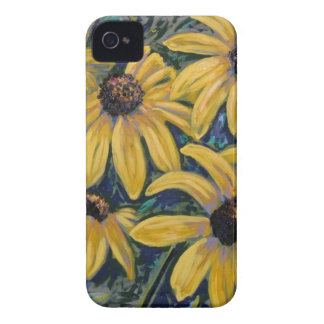 black eyed susans iPhone 4 Case-Mate cases
