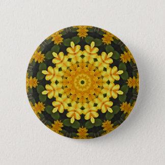 Black-eyed Susans Nature, Flower-Mandala Button