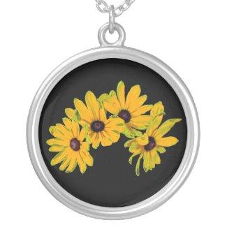 Black Eyed Susans Necklace