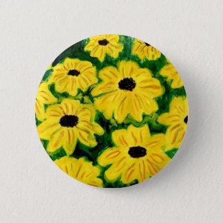 Black Eyed Susans Pinback Button