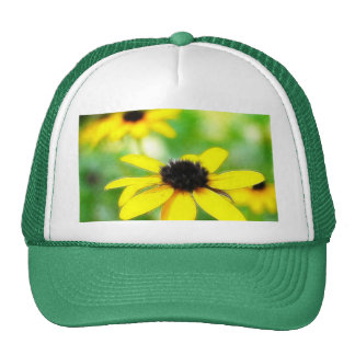Black Eyed Susans - Romantic and Dreamy Mesh Hat