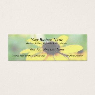 Black Eyed Susans - Romantic and Dreamy Mini Business Card