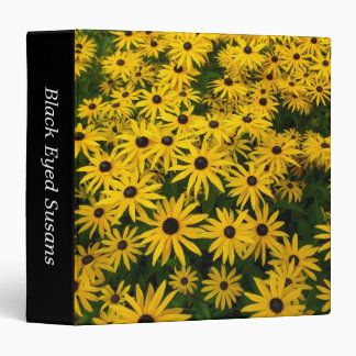 Black-eyed Susans (Rudbeckia Hirta) (1.5in) Binder