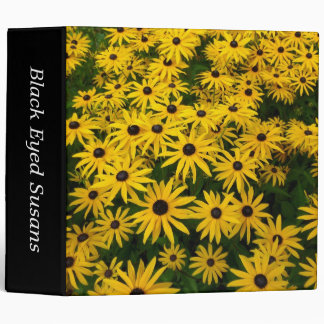 Black-eyed Susans (Rudbeckia Hirta) (2in) Binder