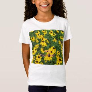 Black Eyed Susans Yellow Green T-Shirt