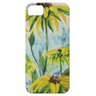 Black eyed suzans in Watercolor iPhone SE/5/5s Case