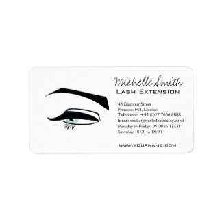 Black Eyeliner blue eye henna make up icon Label