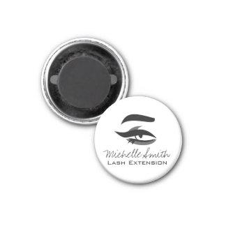 Black Eyeliner lash extension henna make up icon Magnet