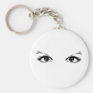 black eyes keychain