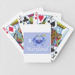 Black Eyes Susan Crab Poker Cards
