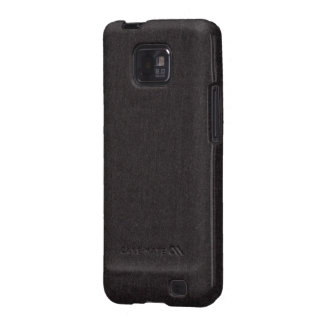 Black Fabric Texture Samsung Galaxy S Case Samsung Galaxy SII Cases