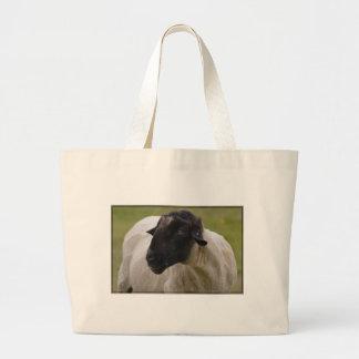 Black Faced Sheep Canvas Bag