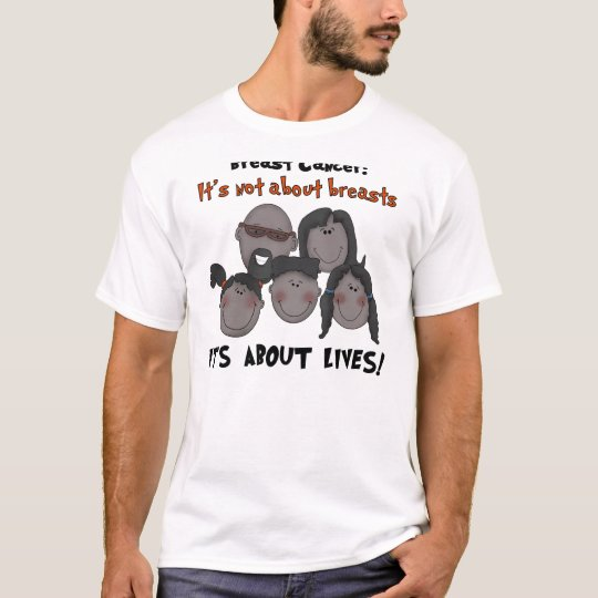 Black Family Breast Cancer T-Shirt