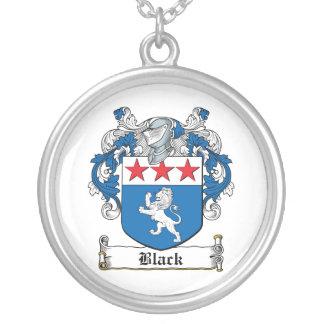 Black Family Crest Necklaces