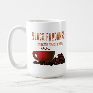 Black Fandango Coffee Mug