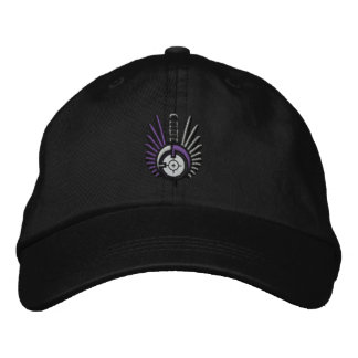 Black FateofDestinee Embroidered Logo Ball Cap Baseball Cap
