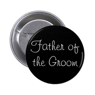 Black Father of the Groom Pin