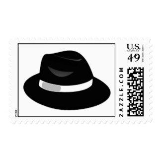 Black Fedora Postage