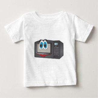 Black Female Cartoon Microwave Baby T-Shirt