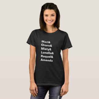 Black Female Superhero Ampersand Shirt