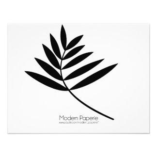 Black Fern Modern 50th Birthday Special Event Invite