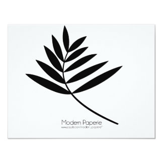 Black Fern Modern Birthday / Special Event Card