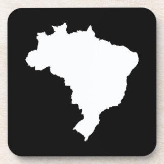 Black Festive Brazil at Emporio Moffa Drink Coaster
