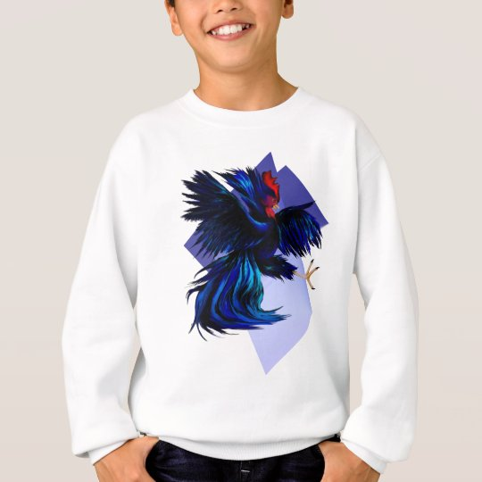 Black Fighting Rooster Shirt