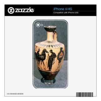 Black-figure Attic vase, 5th century BC iPhone 4S Skin