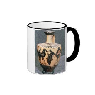 Black-figure Attic vase, 5th century BC Mugs