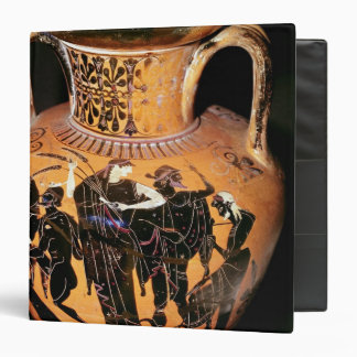 Black-figure attic vase 3 ring binder