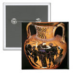 Black-figure attic vase button