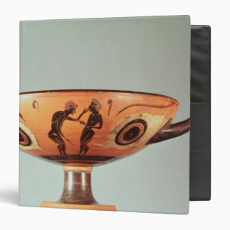 Black figure kylix, c.580-525 BC Binder