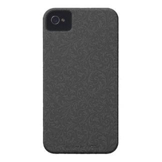 Black Filigree Blackberry Bold Case