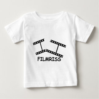 black Filmriss icon Baby T-Shirt