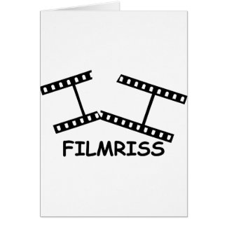black Filmriss icon Card