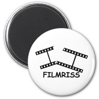 black Filmriss icon Magnet